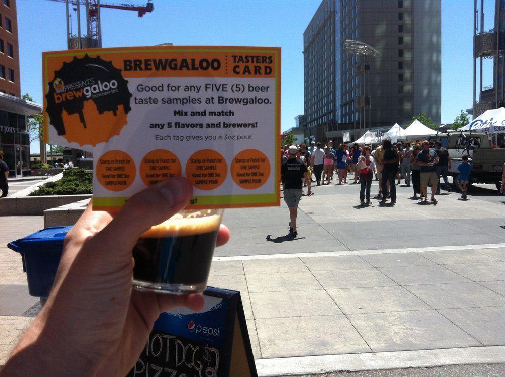 All hail brewgaloo oak city hustle drink local beer