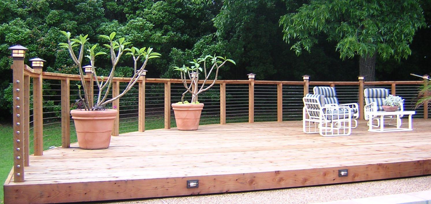 Wood Deck Railing Design Ideas Check out