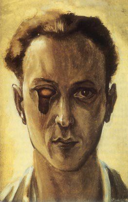 Victor Brauner, Self-Portrait with a Plucked Eye, 1931