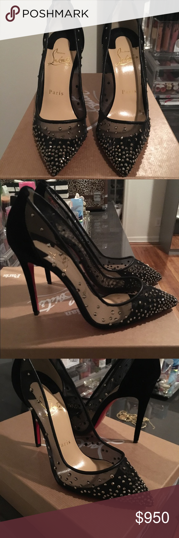 the best attitude 77948 7772e Christian Louboutin Crystal Follies Strass Boutique | My ...