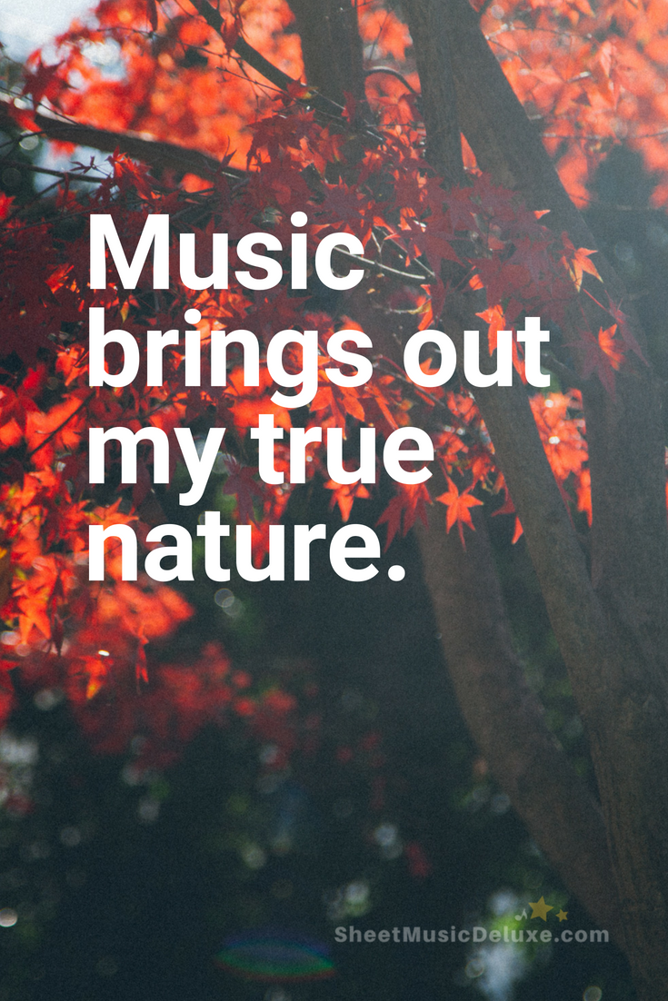 Inspiring Music Quote Music Quote Piano Nature Inspiration