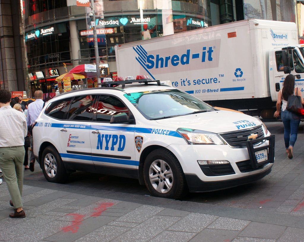 Nypd Critical Response Command Chevrolet Traverse Police Cars
