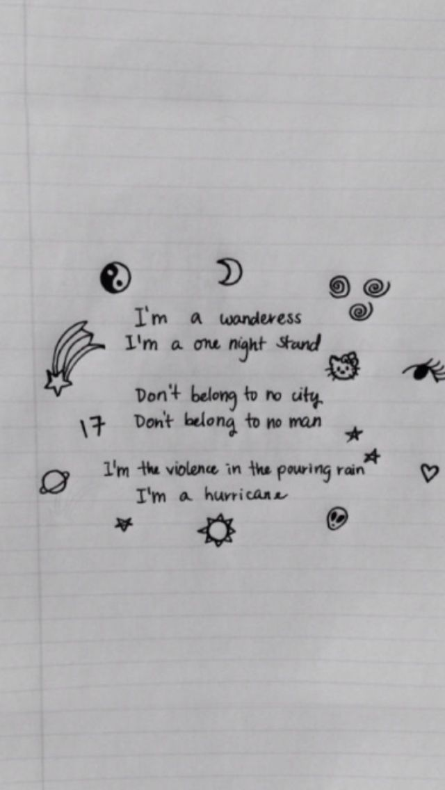 Pin By Seaweed Skincare On Me Drawing Quotes Journal Quotes Halsey Lyrics