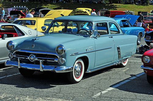 1952 Ford Customline Autos Carros Antiguos