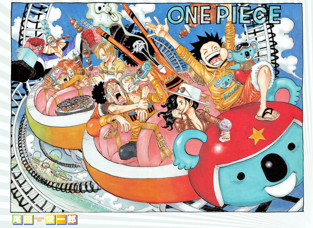 Color Spreads In 2020 One Piece Chapter One Piece Manga One Piece Funny