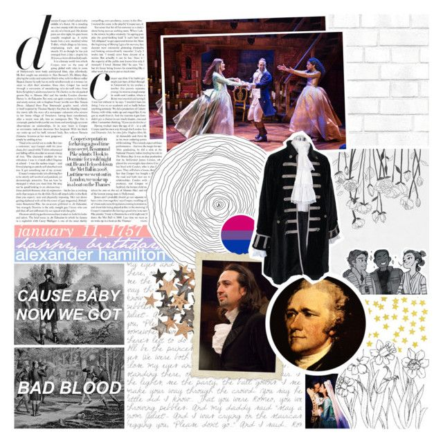 """""""&& happy birthday alexander hamilton!"""" by svhuylers ❤ liked on Polyvore featuring art and romanogersiscanon"""