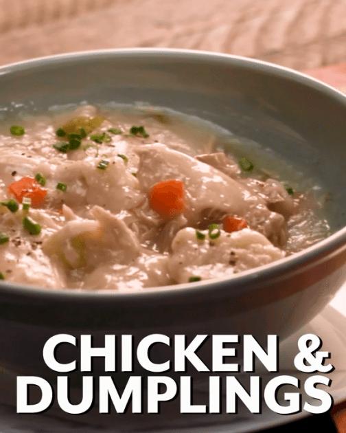 POPSUGAR Old-Fashioned Chicken And Dumplings Recip