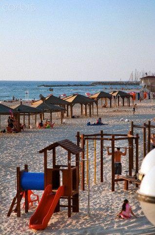 Beach Huts And Leisure Area At Gordon Beach Tel Aviv Israel Middle East Tel Aviv Beach Beach Hut Tel Aviv