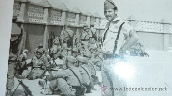 Antigua Fotografia De La Legion Española En El Sahara La Legion Española La Legion Historia De España