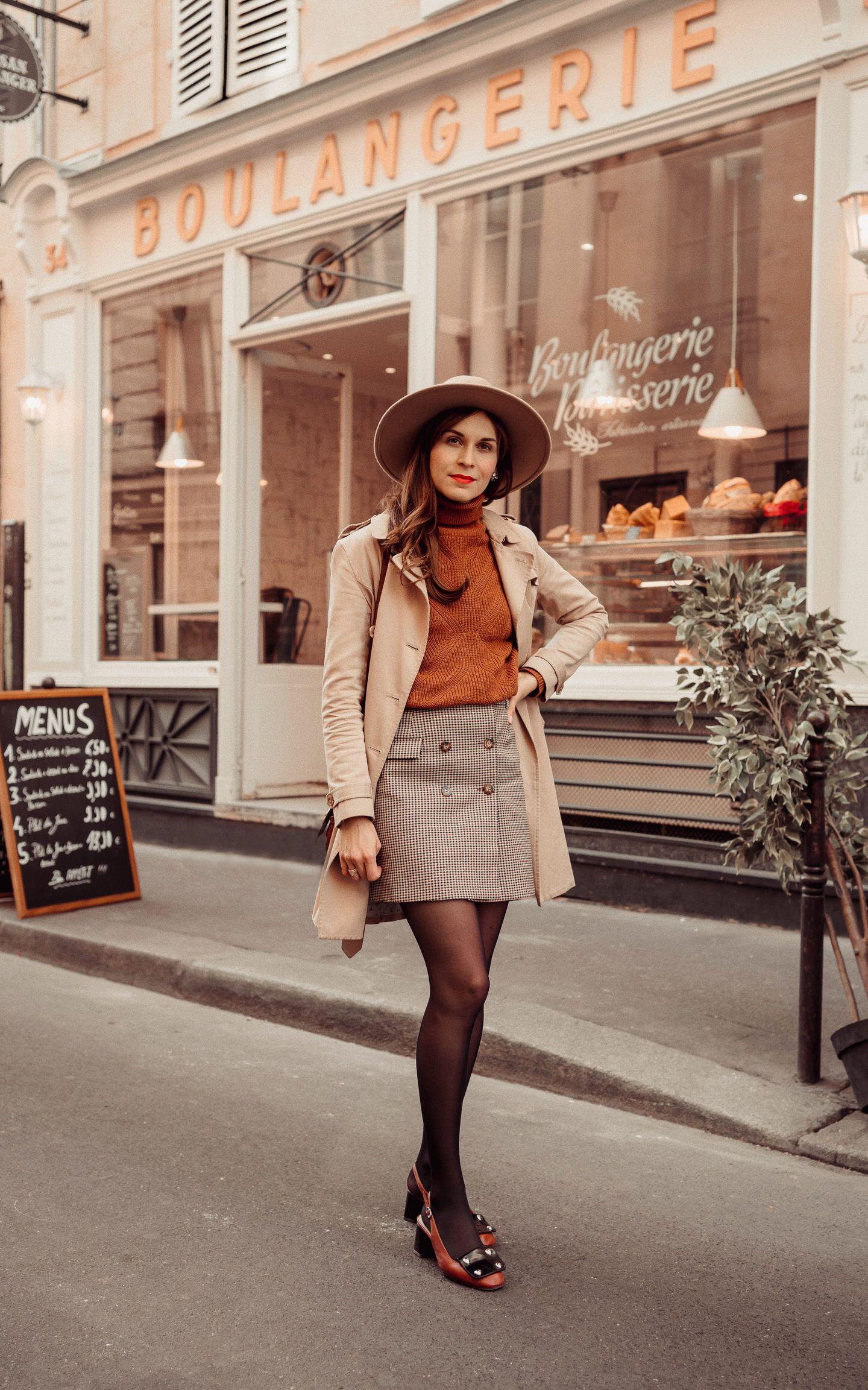 Comment je porte la slingback en automne sans avoir froid #mode