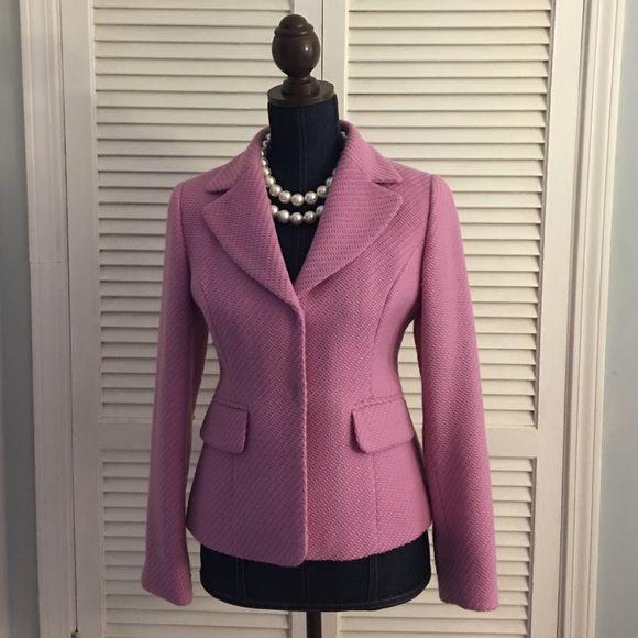 Size 6P Ann Taylor Loft wool blazer Gently used size 6P Ann Taylor Loft blazer.  Beautiful addition to your work wardrobe! Ann Taylor Loft Jackets & Coats Blazers