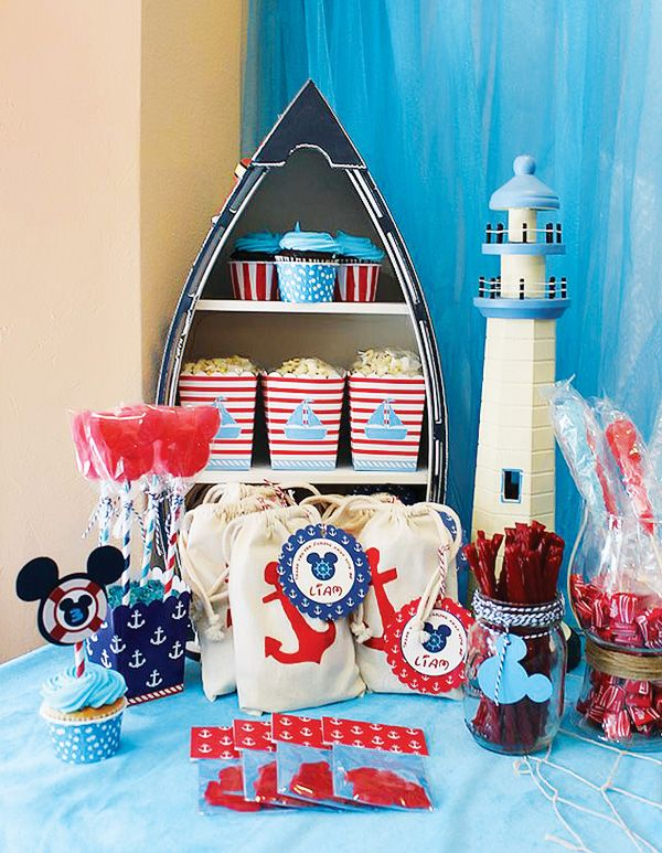 two other amazing ways to use nautical home decor - Nautical Party Decorations