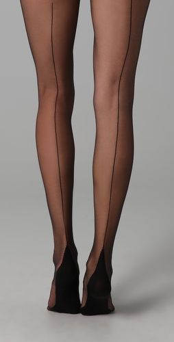 SHOPBOP - Falke High Heel Tights. I love back seams on tights!
