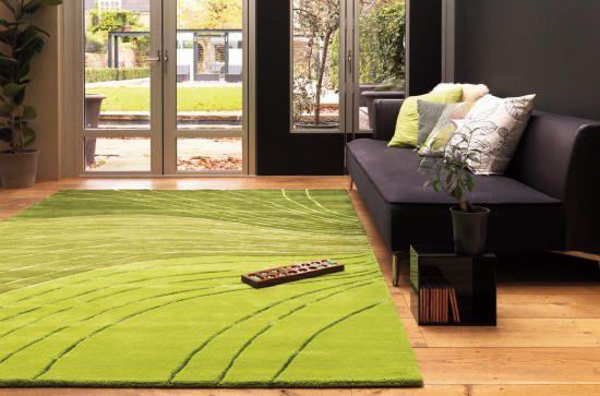 Risultati immagini per tappeti moderni verde soggiorno