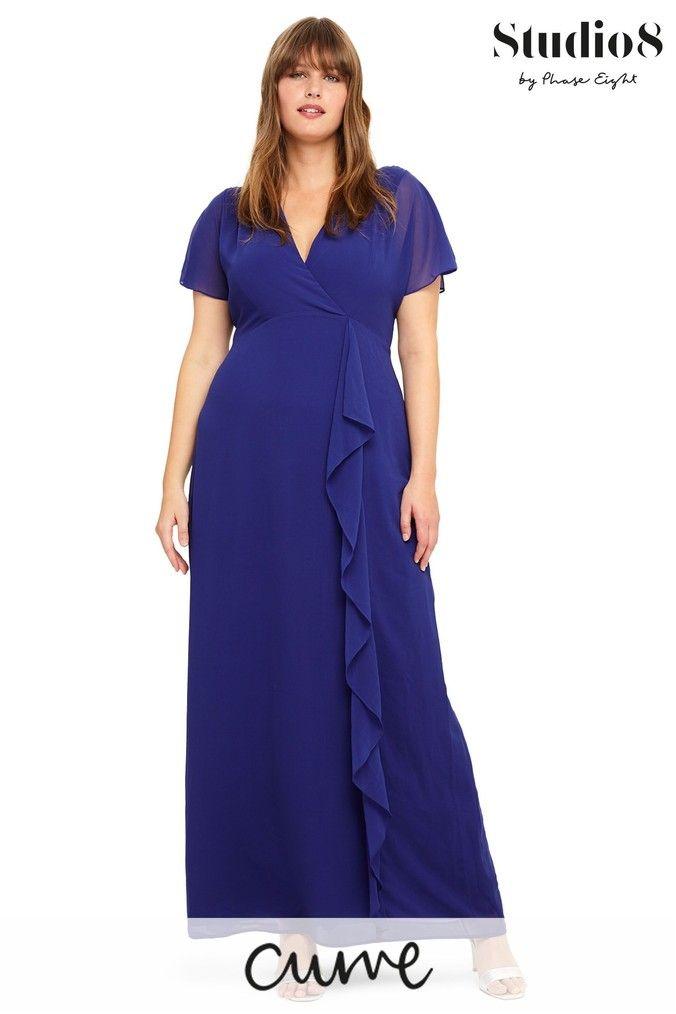 Studio 8 Purple Phoenix Maxi Dress