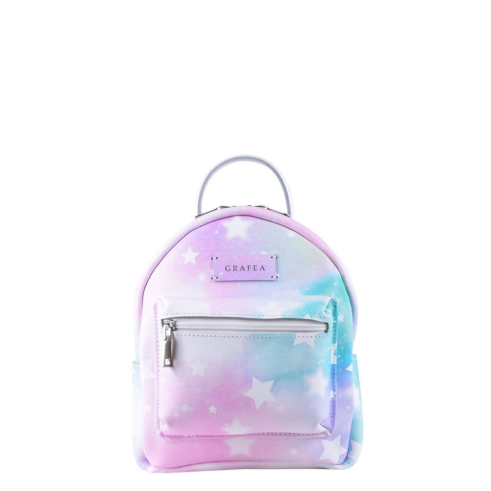 56c45c35e80 ZIPPY CHARM Small Size Leather Backpack | Gimme it | Backpacks, Cute ...