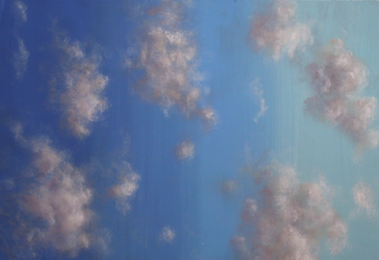 Sky and clouds - painting sketch design