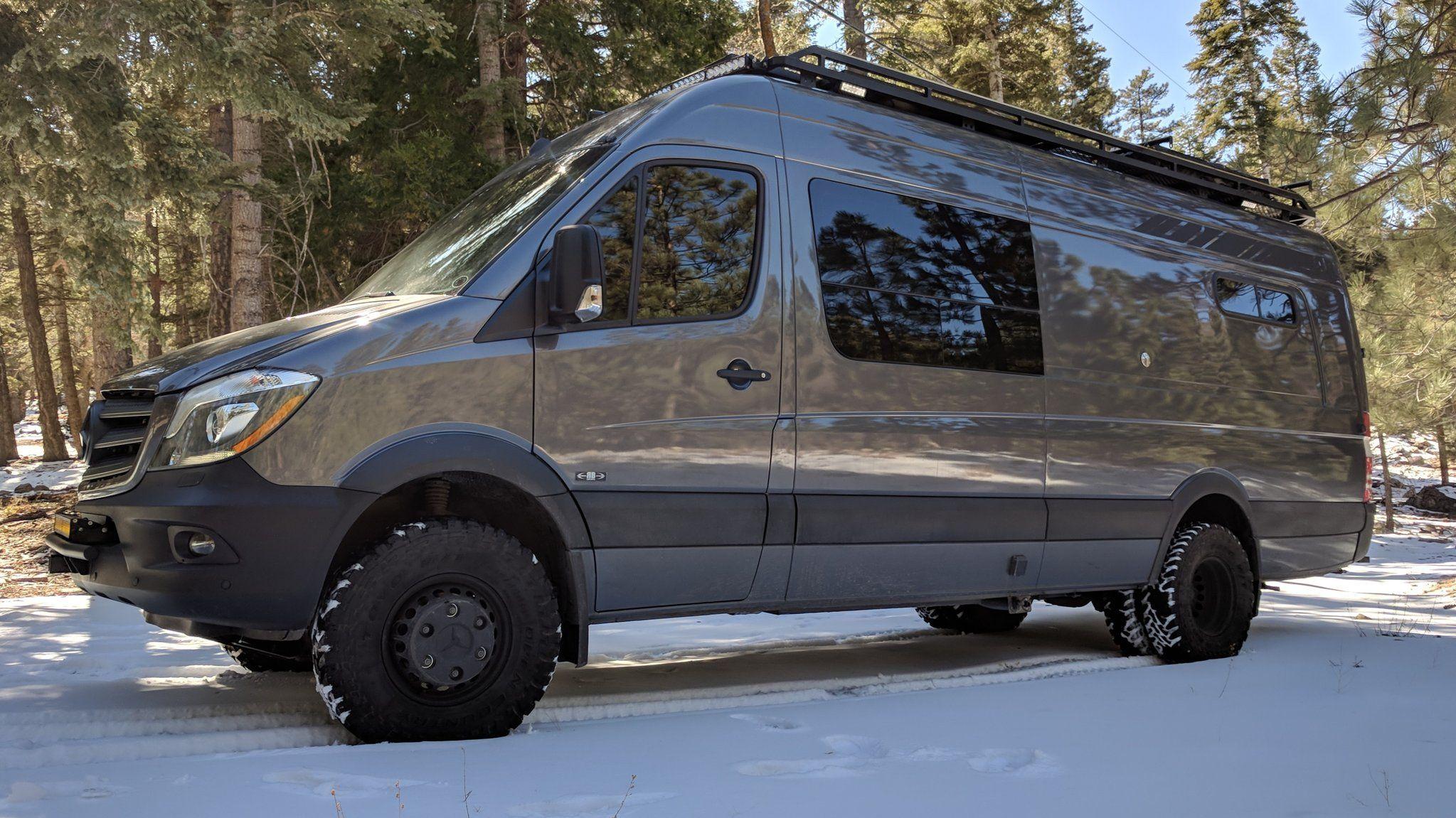 4X4 Sprinter Van For Sale >> Rb Gear Hauler 07 170ex 3500 4x4 Sold Sprinter Van