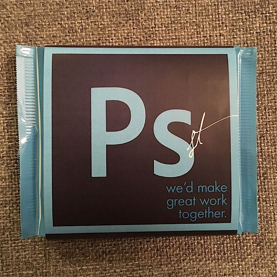 Kreative Visitenkarten Aus Schokolade Design Kreative