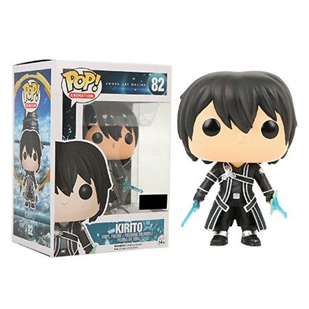Sword Art Online Pop Vinyl Figure Kirito Clear Blue Sword Forbidden Planet Funko Pop Anime Sword Art Online Kirito Sword Art Online