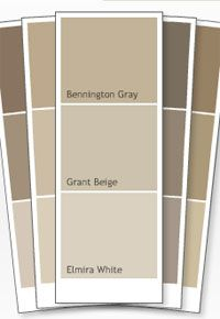Bennington Gray Benjamin Moore Also Grant Beige Which Is A