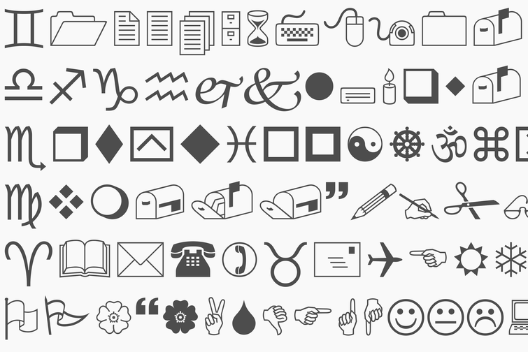 Why the Wingdings font exists Typography fonts, Fonts