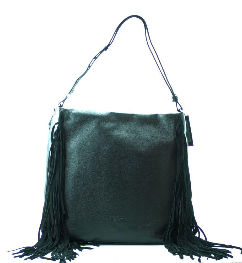 Womens TF16BB144 Hobos and Shoulder Bag Tosca Blu VghV4yPt