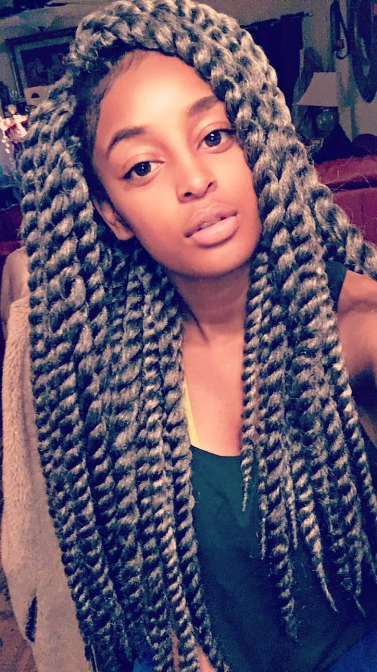 inches grey crochet mambo havana twist took hours and only