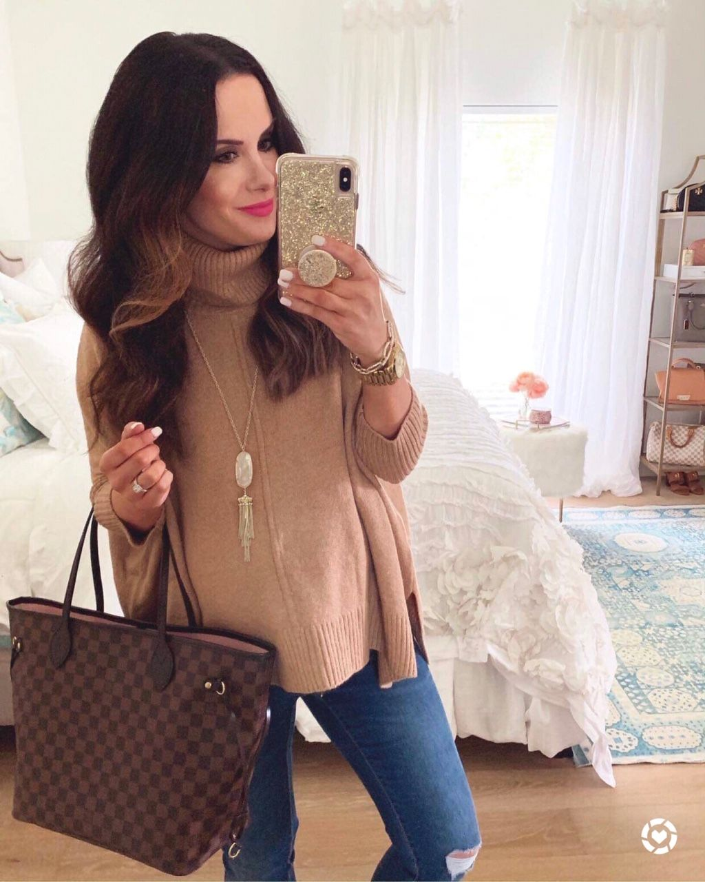 40% Off LOFT & Ann Taylor New Fall Arrivals & More! - The Double Take Girls #ponchosweater