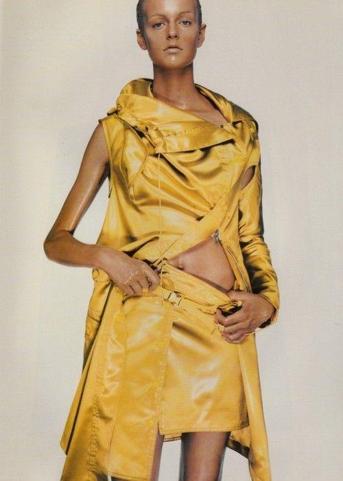 Vogue Italia September 1999 Jacquetta Wheeler by Steven Klein
