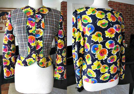 CARLISLE Jacket and Blouse / vintage Carlisle silk by OGOvintage