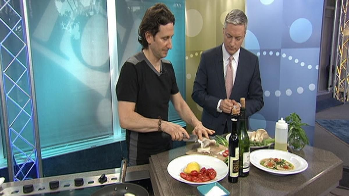Chef Rich Landau from Vedge is heating up the 10! Show Kitchen with ...