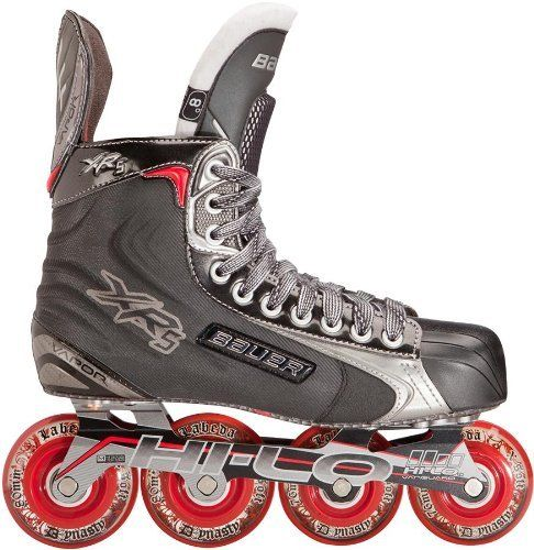 Bauer Vapor Xr5 Inline Skates Senior By Bauer 349 99 Ultra Light Tech Mesh Quarter Boot Construction W Roller Hockey Skates Inline Skating Inline Hockey