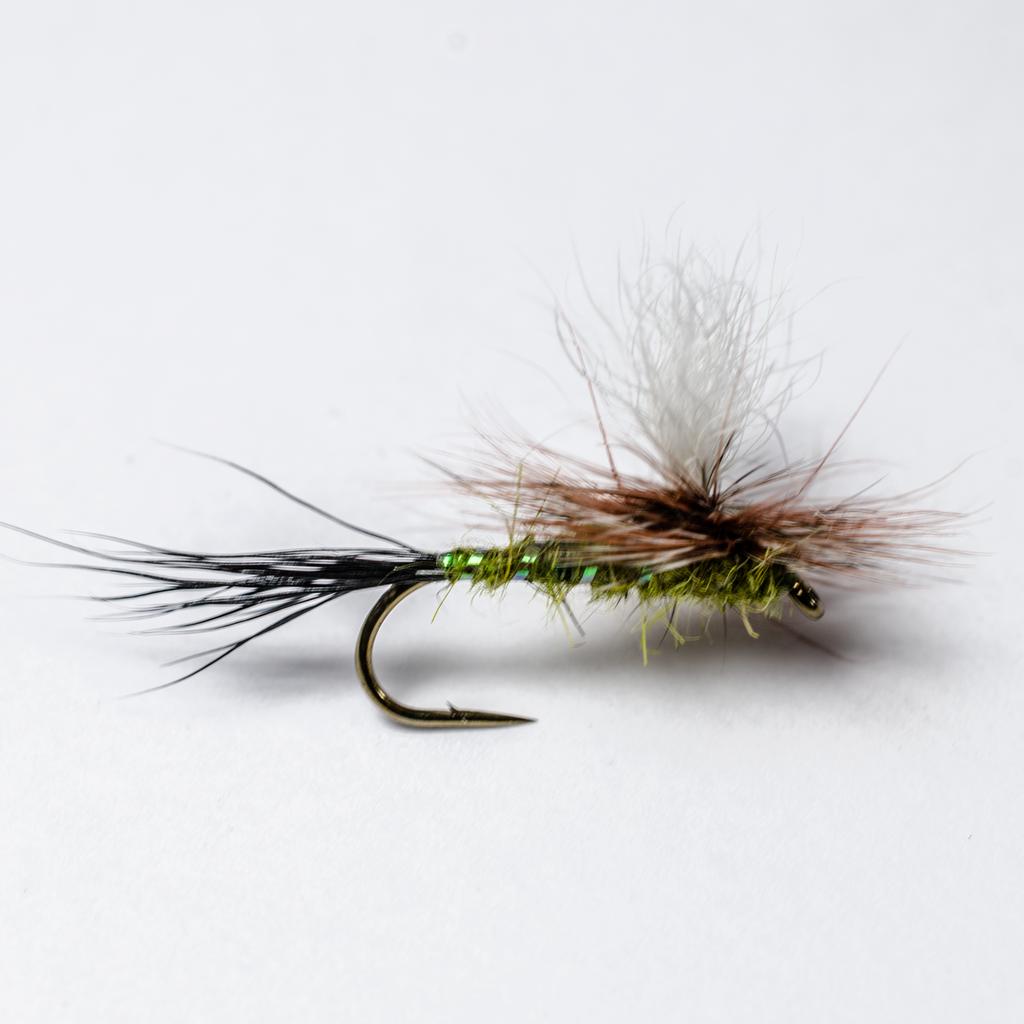 Dry Fly Trout Wulff Green 1 Dozen