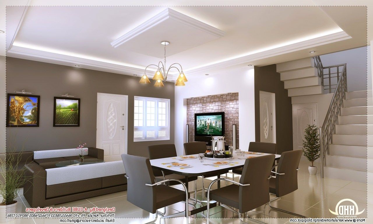 Kerala Home Interior Design Ideas Style Designs Plan Flat Drawings