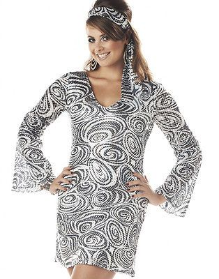 Retro #1970's 70's go go disco diva girl #dancer plus size #halloween costume 2x-,  View more on the LINK: 	http://www.zeppy.io/product/gb/2/131898001093/