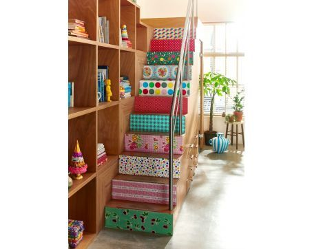 trap beplakt met kitschkitchen plakfolie toile cir e mexicaine mexican oilcloth pinterest. Black Bedroom Furniture Sets. Home Design Ideas