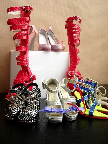 My fashion beyond reason shoes (so far) by Nina-chan, via Flickr