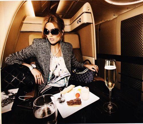 einfach mal nach #London im Privatflieger zum shoppen fliegen ;)