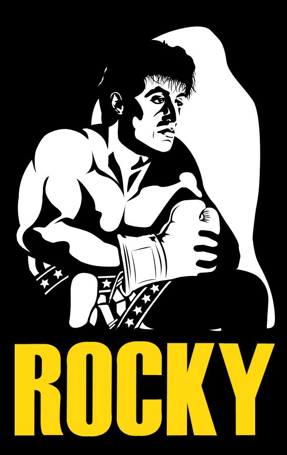 Rocky By Aedys On Deviantart With Images Rocky Poster Rocky