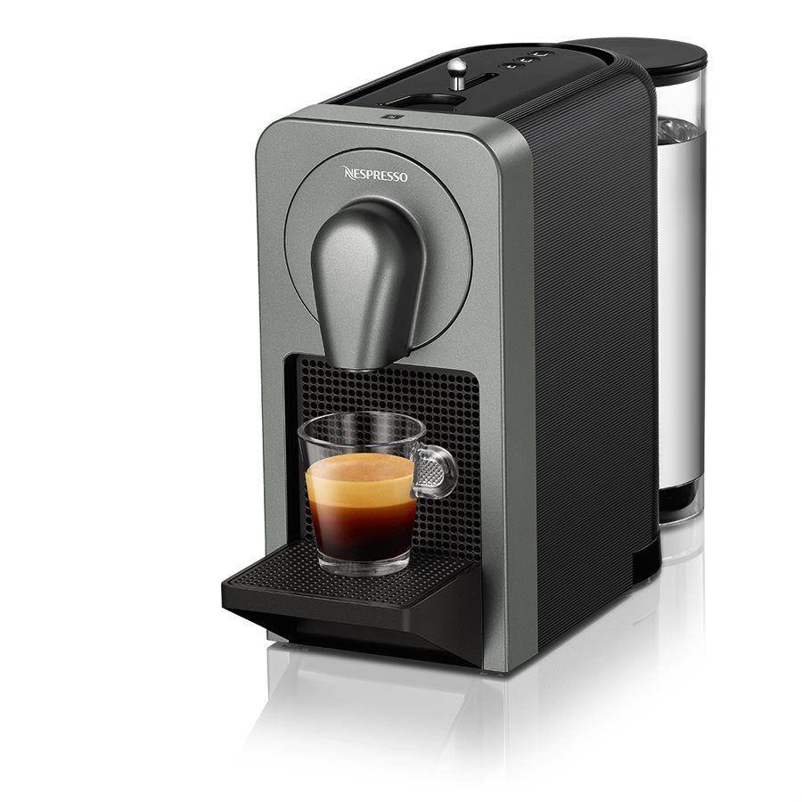 Nespresso Prodigio Cafetière Espresso - Titane