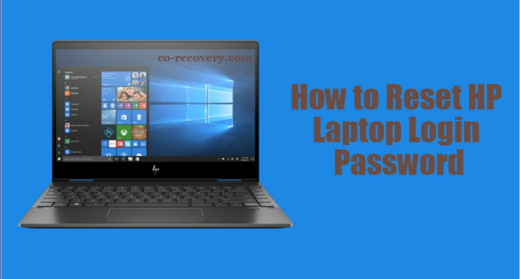 How to reset HP Laptop login password (With images)   Hp ...