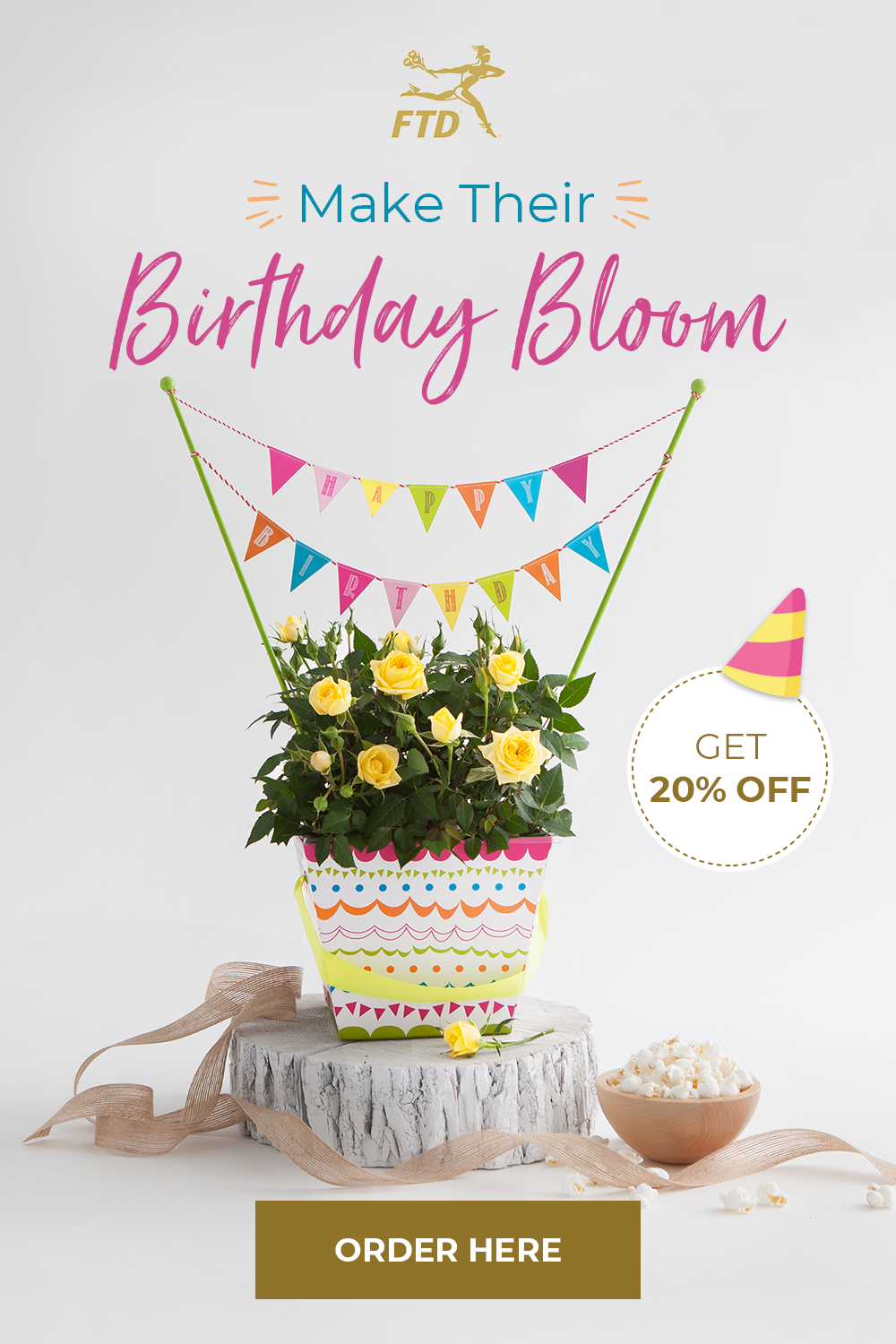 Brighten their birthday with the boldest and most exciting