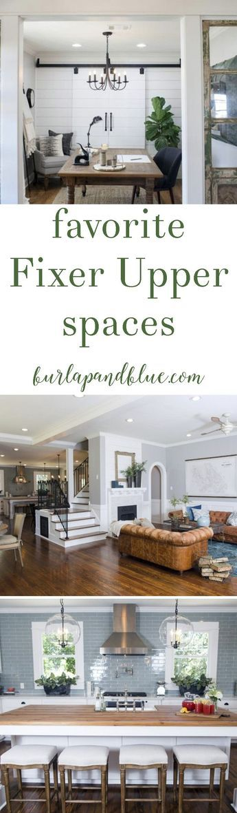 fixer upper kitchens  living spaces part 2 Home