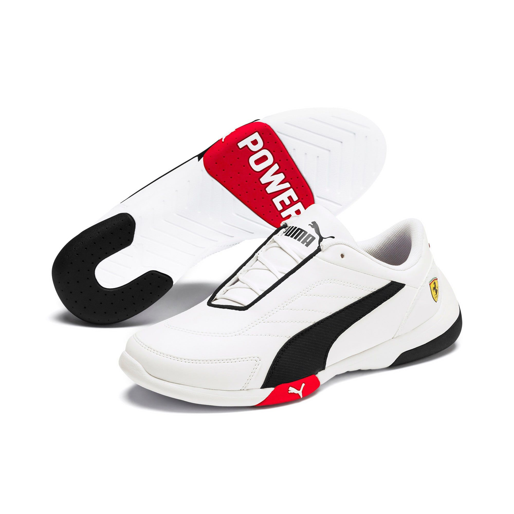 PUMA Ferrari Kart Cat III Youth Trainers in Red size 6 #newferrari