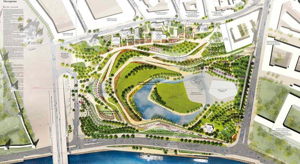 020 02 Architecture Competition Results Landscape Architecture Plan Landscape Design Competition Parking Design
