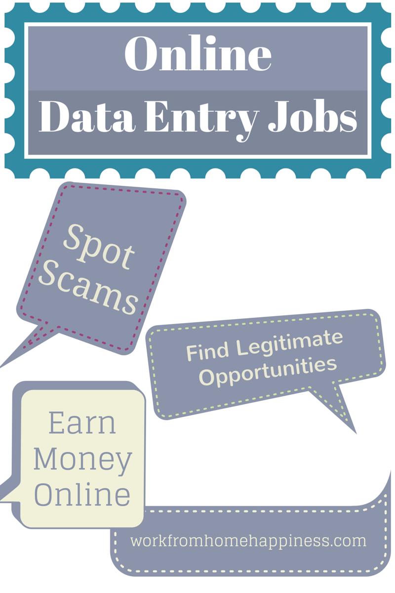 Legitimate Online Data Entry Jobs & Gigs | Online data entry jobs ...