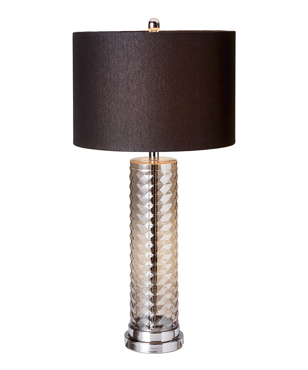 Tall silver luster lamp pretty all kinds of stuff pinterest with a beautiful circular design this tall lamp will be perfect on your end table or on the floor in your living room or bedroom aloadofball Choice Image