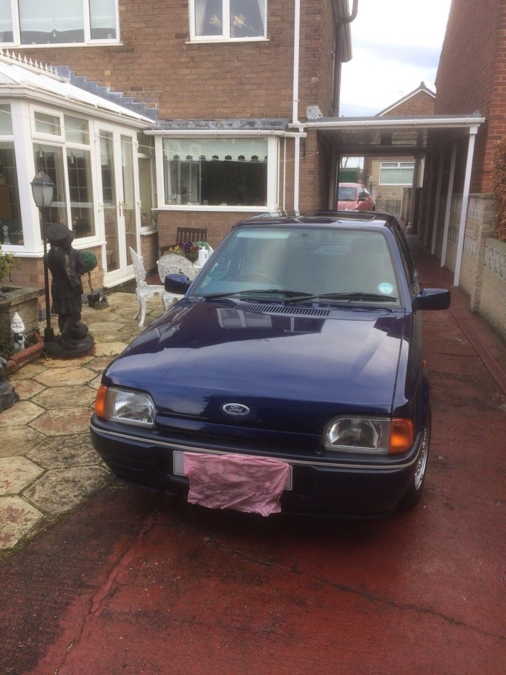 This Ford Orion Equipe 1990 In Pacific Blue Is For Sale Ford