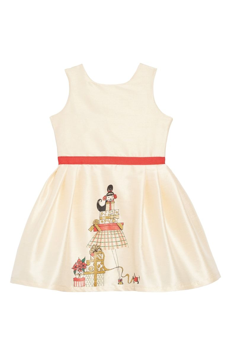 30dfcc0d46cb Holiday Presents Party Dress FIVELOAVES TWOFISH | Bridge | Toddler ...